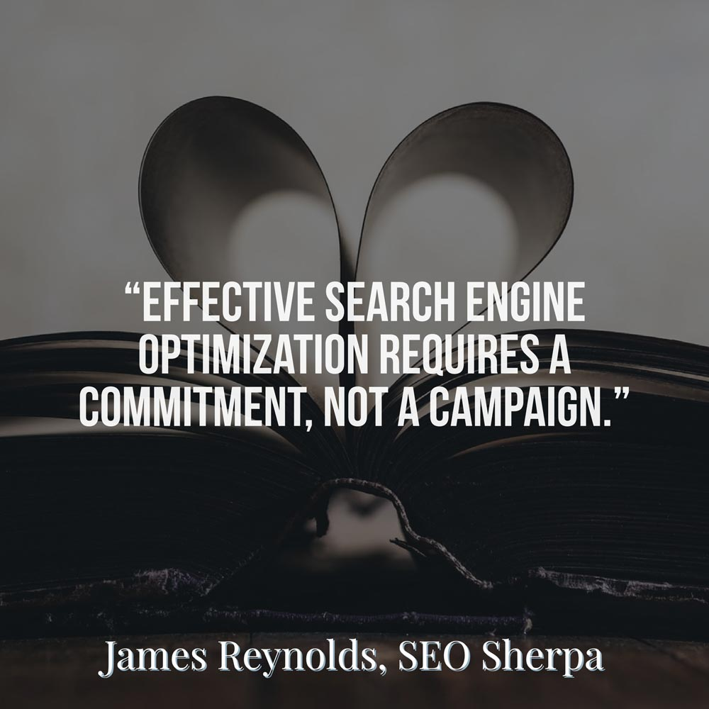 James Reynolds, SEO Sherpa